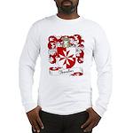 Chevalier Family Crest Long Sleeve T-Shirt