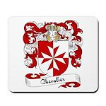 Chevalier Family Crest Mousepad