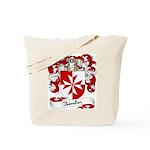 Chevalier Family Crest Tote Bag