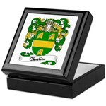 Chretien Family Crest Keepsake Box
