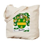 Chretien Family Crest Tote Bag
