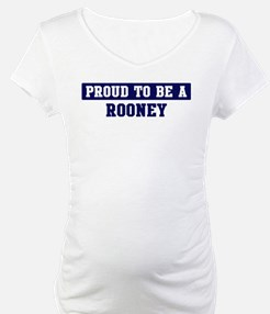 Proud to be Rooney Shirt