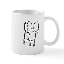 Papillon Sketch Mug