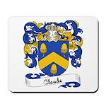 Claude Family Crest Mousepad
