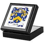 Claude Family Crest Keepsake Box