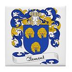 Clement Family Crest Tile Coaster