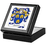 Clement Family Crest Keepsake Box