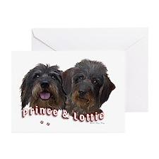 Lottie & Prince Greeting Cards (Pk of 10)