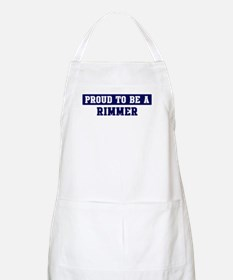 Proud to be Rimmer BBQ Apron
