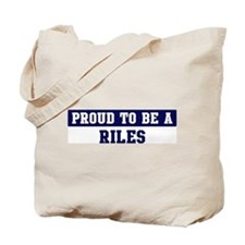 Proud to be Riles Tote Bag