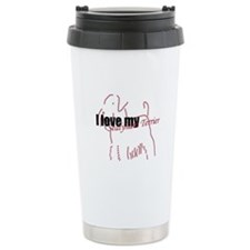 I Love My Sealyham Terrier Travel Mug