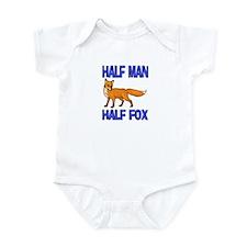 Half Man Half Fox Infant Bodysuit