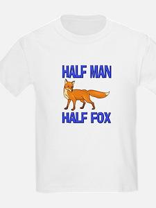 Half Man Half Fox T-Shirt