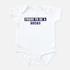 Proud to be Rodas Infant Bodysuit