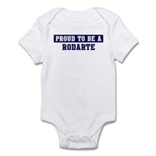 Proud to be Rodarte Infant Bodysuit
