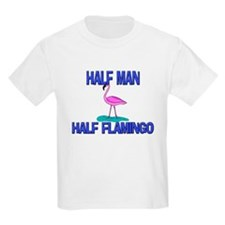 Half Man Half Flamingo T-Shirt