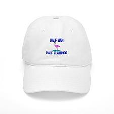 Half Man Half Flamingo Cap