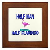 Flamingo las vegas Framed Tiles