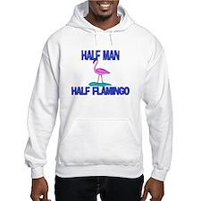 Half Man Half Flamingo Hoodie