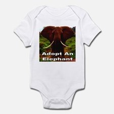 Adopt An Elephant Infant Bodysuit