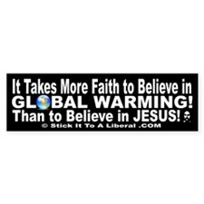 It Takes More Faith To Believe In Global Warming