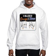 Bleed Orange & Blue Hoodie