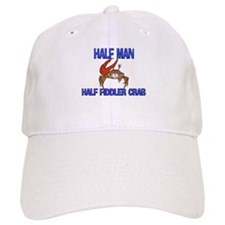 Half Man Half Fiddler Crab Baseball Cap