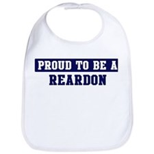 Proud to be Reardon Bib