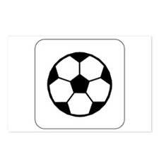 Soccer Ball Icon Postcards (Package of 8)