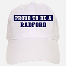Proud to be Radford Baseball Baseball Cap