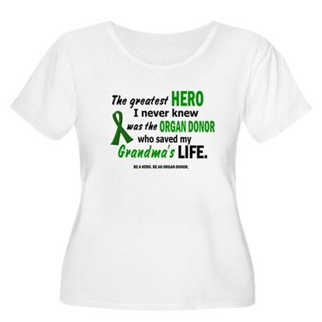 Hero I Never Knew 1 (Grandma) Women's Plus Size Sc