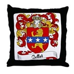 Collet Family Crest Throw Pillow