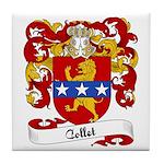 Collet Family Crest Tile Coaster
