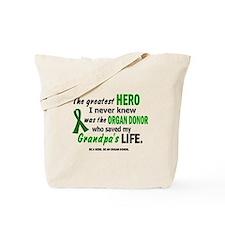 Hero I Never Knew 1 (Grandpa) Tote Bag