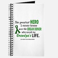 Hero I Never Knew 1 (Grandpa) Journal