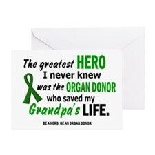 Hero I Never Knew 1 (Grandpa) Greeting Card