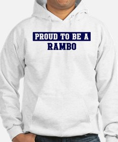 Proud to be Rambo Jumper Hoody
