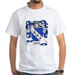 Comte Family Crest White T-Shirt