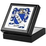 Comte Family Crest Keepsake Box