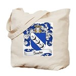 Comte Family Crest Tote Bag