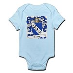 Comte Family Crest Infant Creeper
