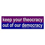 Keep your theocracy out of our democracy