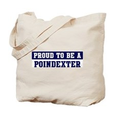 Proud to be Poindexter Tote Bag