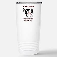 Wisconsin Smell Dairy Air Travel Mug