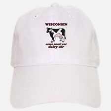 Wisconsin Smell Dairy Air Baseball Baseball Cap
