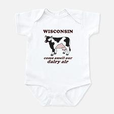 Wisconsin Smell Dairy Air Onesie