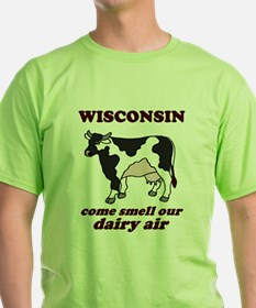 Wisconsin Smell Dairy Air T-Shirt