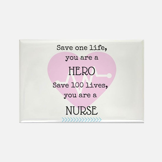 Hero Nurse Magnets
