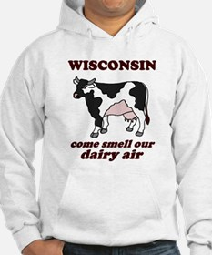 Wisconsin Smell Dairy Air Hoodie