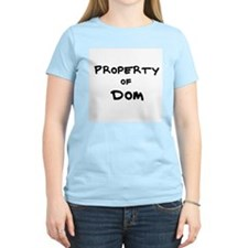 Property of Dom Women's Pink T-Shirt